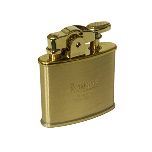 Ronson encendedor de gasolina de acción Nostalgia, oro