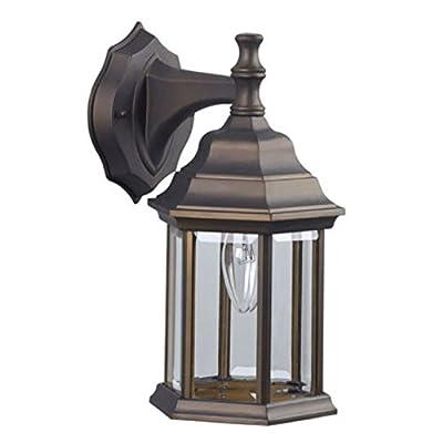 Bronze Rubbed Oil Light Lantern Fixture Outdoor Lantern Wall Light Fixture Sconce Lighting