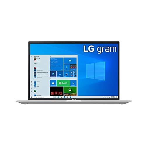 Product Image 12: LG Gram, Thin & Light Laptop – 14″ IPS WUXGA (1920 x 1200) 11th Gen Intel Core i7 1165G7 CPU, Intel Iris Xe Graphics, 16GB RAM, 512GB NVMe SSD, 22 Hour Battery – 14Z90P-K.AAS8U1 -Silver (2021)