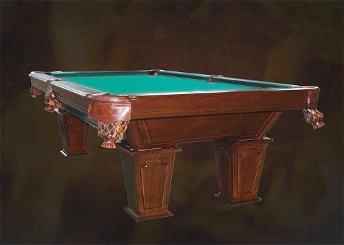 8 pies mesa de billar Pooltunierbillardtisch con madera maciza tunierbillard 3 cm Fuerte de pizarra