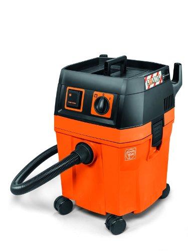 Fein Dustex 35L , Nass-/Trockensauger , 70L/s Volumenstrom, 253 mbar Unterdruck , Geringe Lautstärke , Autostart-Steckdose , Zulassung für Staubklasse L , Große Reichweite, optimale Wendigkeit