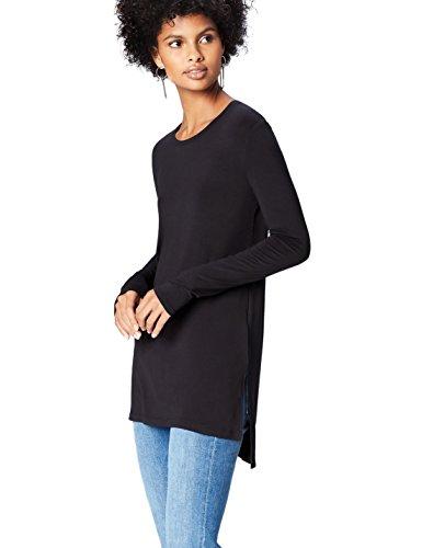 find. 18136 magliette donna, Nero (Black), 42 (Taglia Produttore: Small)