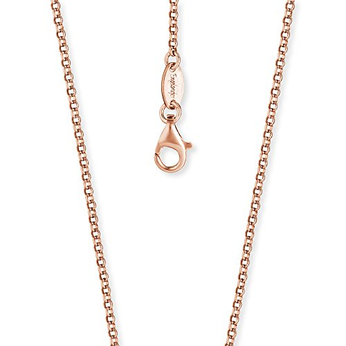 Engelsrufer Erbskette Rosévergoldet 925er-Sterlingsilber Stärke 2,1 mm Länge 50 cm