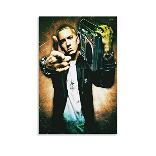 SHEFEI Eminem (3) Poster, dekoratives Gemälde, Leinwand, Wandkunst, Wohnzimmer, Poster, Schlafzimmer, Malerei, 30 x 45 cm