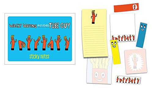 Wacky Waving Inflatable Tube Guy Sticky Notes: 488 Notes to Stick and Share