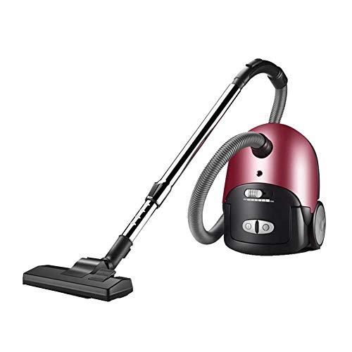 GNLIAN HUAHUA Vacuumas de Mano Aspiradora sin Bolsa Cilindro Aspiradoras 1600W 18Kpa, Filtro HEPA con la tecnología Anti-alérgenos, 8M Limpieza Radio