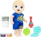 Baby Alive Hasbro Boy Doll Snackin' Luke, Blonde