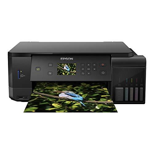 Epson EcoTank ET-7700 A4 Print/Scan/Copy Wi-Fi Photo Printer, Black