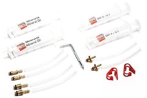 Universal Entlüftungs-Kit Basic für Magura® / Formula® / Shimano® / Avid® Scheibenbremsen - Mit Torx T10