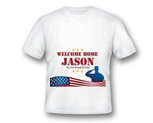 Welcome Home T-shirt, Army T-shirt, Welcome Home Ideas, Welcome Home Print Shirt, Army Shirts, Proud of You Shirt, Custom Shirt