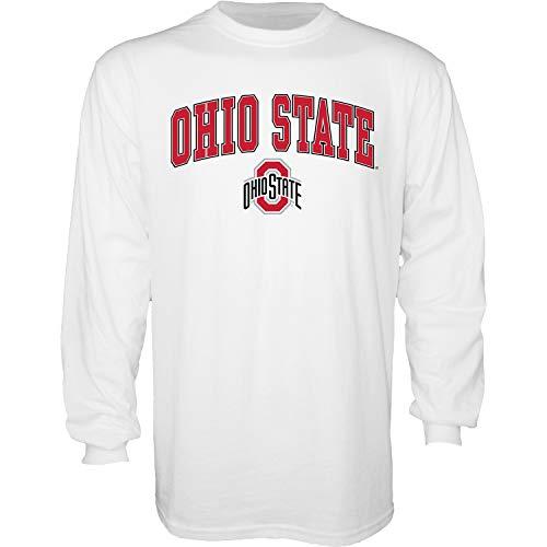 Blue84 NCAA mens Long Sleeve T Shirt Black Icon