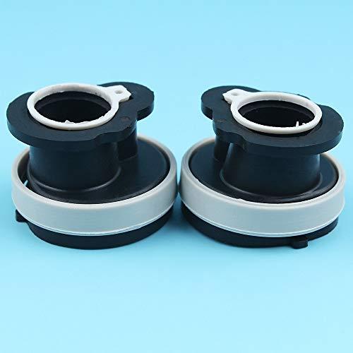 HaoYueDa Carburador colector de admisión Boot tubo Pipe Kit Compatible con Stihl MS170 MS180 017 018 MS 170 180 motosierra 11301412200 sustituir parte