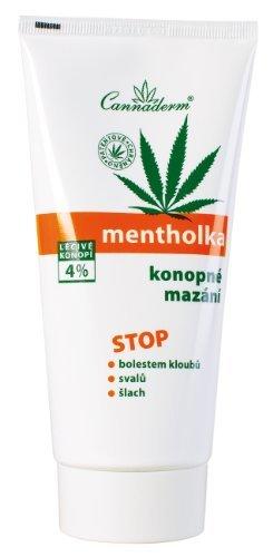 CANNADERM Mentholka Hanf-Gel Massagegel mit kühlender Wirkung gegen Muskelermüdung 200 ml