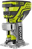 Ryobi P601 One+ 18V Lithium Ion Cordless Fixed Base Trim Router (Battery Not Included – Tool Only)