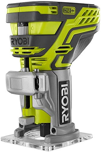 Ryobi P601 One+ 18V Lithium Ion Cordless Fixed Base Trim Router