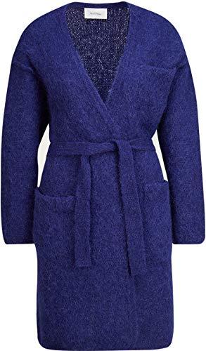 American Vintage Damen Strickjacke aus Mohair-Alpaka in Blau XS/S