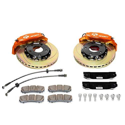 Ksport ProComp Orange 8-Piston Big Brake System
