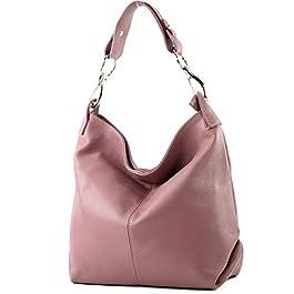 modamoda de – épaule ital/sac à bandoulière en cuir T168