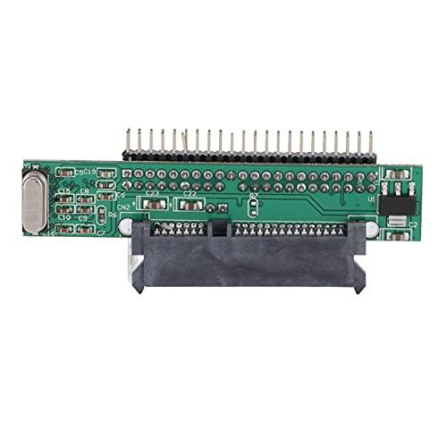 Adaptador de Disco Duro SATA a IDE, Serial ATA 7 + 15P Hembra a 44 Pines Macho Pata convertidor de Unidad de computadora para Disco Duro de computadora portátil