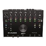 M-Audio AIR 192|14 - Interfaz de audio MIDI/tarjeta de sonido USB/USB-C, 8 entradas, 4 salidas, software de estudio, ProTools|First, Ableton Live Lite, Eleven Lite y efectos de Avid y AIR Music Tech