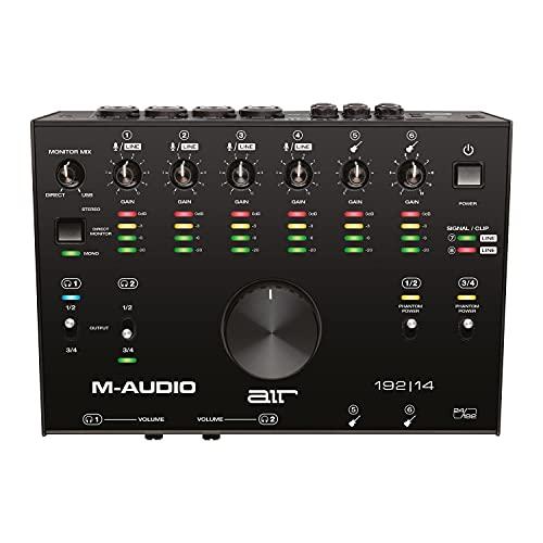 M-Audio AIR 192 14 - Interfaz de audio MIDI/tarjeta de sonido