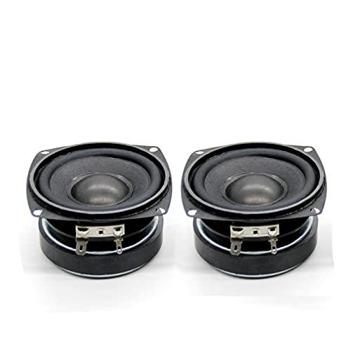 Wnuanjun 2 unids 3 Pulgadas Woofer Audio Sound Limpiadores Música Controlador 8...