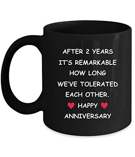 Regalos del segundo aniversario de Lsjuee para su esposa, esposo, novia, novio, 2 años, 2 años, dos segundos, relación de boda romántica