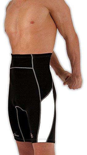 Vulkan Open Cells, Body Reductor para Hombre, Multicolor (Negro Blanco), L