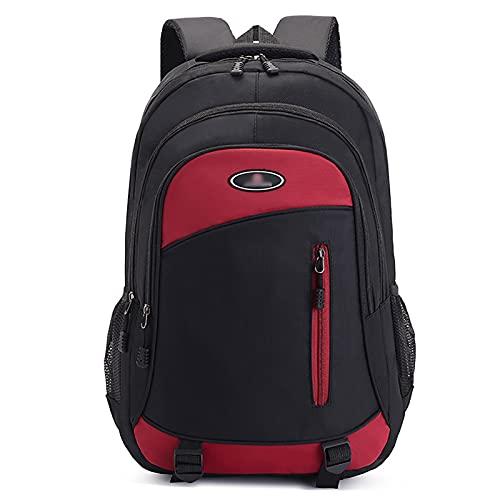 PSFF Viajes de Mochila de los Hombres, Bolsa de computadora de la Escuela universitaria, Mochila de Gran Capacidad Schoolbag, 4 Colores Disponibles Red