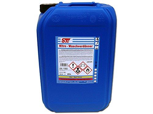 STC Nitro Waschverdünnung 25 L Kanister Reiniger Nitro Wasch Verdünner