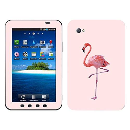 'Disagu SF Flamingo 101712_ 1093Designer Skin Back Case Cover for Samsung Galaxy Tab–Clear