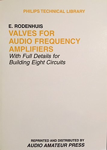 Price comparison product image Valves for Audio Frequency Amplifiers (Philips technical library)