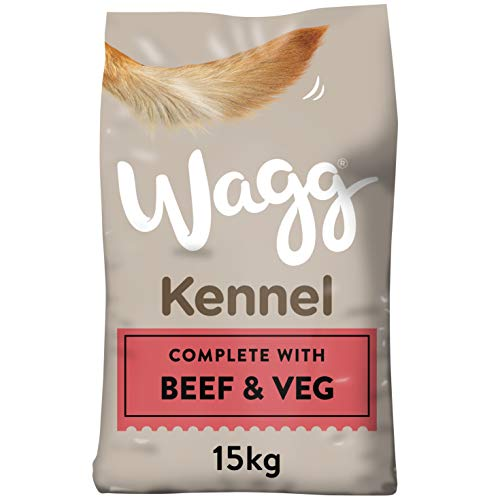 Wagg Kennel Beef and Veg Complete Dry Dog Food, 15 kg