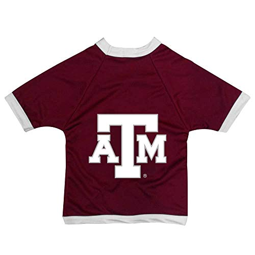 NCAA Texas A&M Aggies Athletic Mesh Dog Jersey