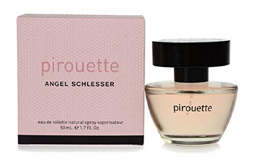 Angel schlesser pirouette eau de toilette para mujer 50ML ambientador Lady Floral particularmente indicado en la temporada fría