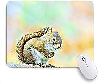 NIESIKKLAマウスパッド リトルリス ゲーミング オフィス最適 高級感 おしゃれ 防水 耐久性が良い 滑り止めゴム底 ゲーミングなど適用 用ノートブックコンピュータマウスマット