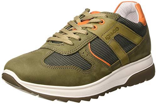 IGI&CO Scarpa Uomo UNK 51296, Sneaker, Marrone (Militare 5129622), 39 EU