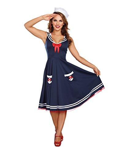 Dreamgirl Women's All Aboard Costume