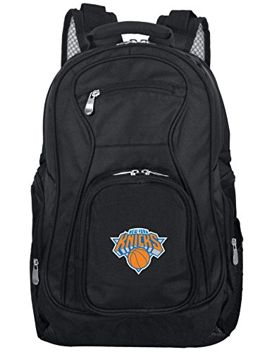 Denco NBA New York Knicks Laptop Backpack, 19-inches, Black