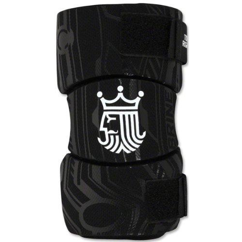 Brine Youth Uprising II Lacrosse Arm Pad, Black, Large