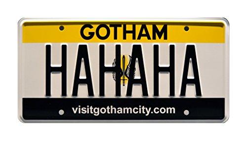 Celebrity Maschinen Suicide Squad | Joker | Harley Quinn | Batman | Gotham City | Hahaha | Metall Prägung Vanity Prop License Plate
