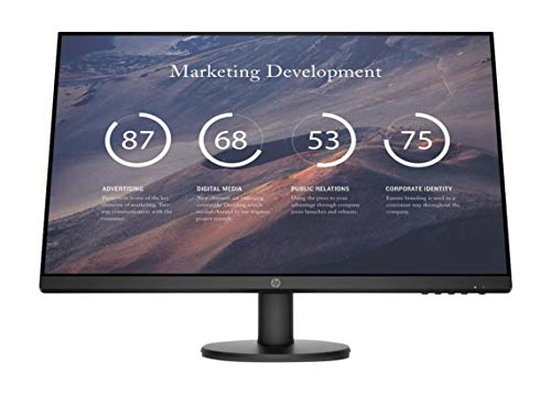 "HP P27v G4 27"" 16:9 1920 x 1080 IPS Monitor with HDMI 1.4, VGA Inputs (9TT20A6#ABA)"