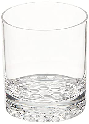 Wine Enthusiast Indoor/Outdoor Double Old Fashioned Glasses, Set of 4