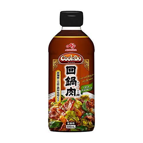 味の素【「Cook DoR」回鍋肉用500mlボトル×6×2】