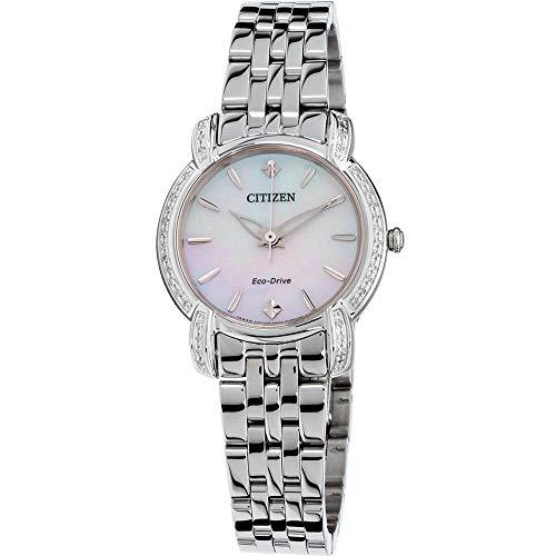 Citizen EM0690-50D Jolie Women's Watch Silver 30mm Stainless Steel
