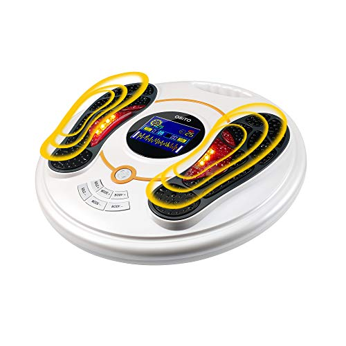 Foot Health Expert Foot Electronic Stimulator - FSA or HSA Eligible -EMS Foot Stimulator for Neuropathy Pain Relief - Reduce Legs Soreness and Swelling and Improve Circulation