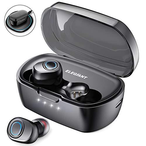 ELEGIANT Auriculares Bluetooth 5.0, TWS inalámbricos