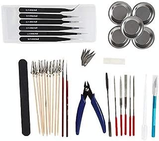 Craft Beginners プラモデル 工具 10種セット ニッパー ヤスリ 精密ピンセット モデラーズナイフ ダイヤモンドヤスリ スパチュラ 入門用
