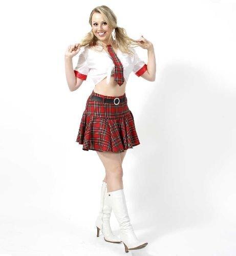 Britney Damen 2tlg m.Krawatte Gr. 36