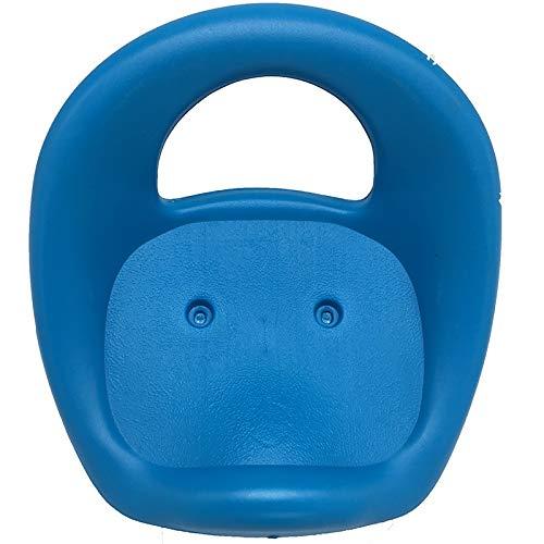 LIUSHUNBAO, Kind childre Kind Baby Dreirad Fahrrad vorne Sattel Sitz Zwei oder DREI Loch Baby Trolley Stuhl Fahrrad zubehör (Farbe : Two Blue)